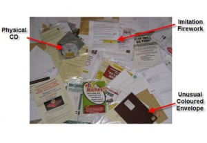 Junk Mail With Labels 3